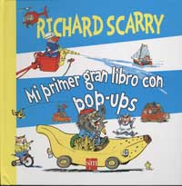 Richard Scarry, mi primer gran libro con pop-ups