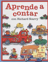 Aprende a contar con Richard Scarry