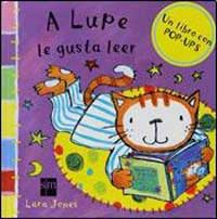 A Lupe le gusta leer