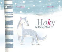Hoky the Caring Wolf