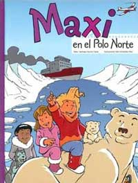 Maxi en el Polo Norte