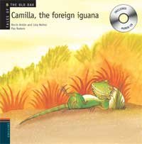 Camilla, the foreing iguana