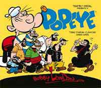 Popeye Bobby London Volumen 2 : tiras diarias clásicas de Bobby London, 1989-1992