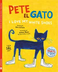 Pete el gato. I Love My White Shoes