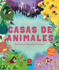 Casas de animales : un libro con pop-up